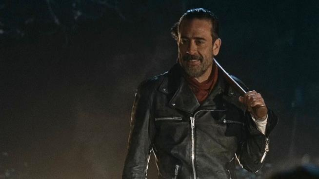 Un'immagine di Negan in The Walking Dead