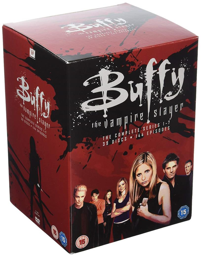 Copertina del cofanetto DVD di Buffy the Vampire Slayer