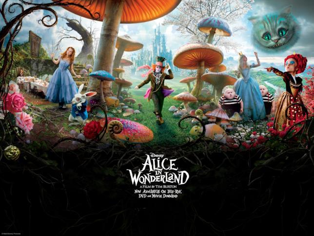 Il manifesto di Alice in Wonderland