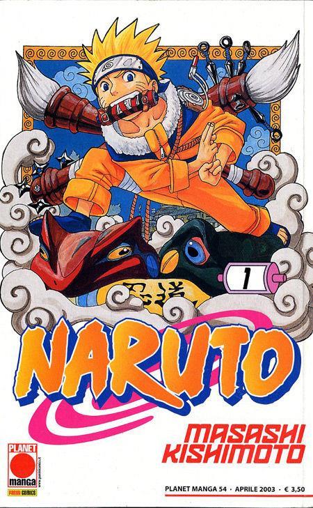Primo volume di Naruto