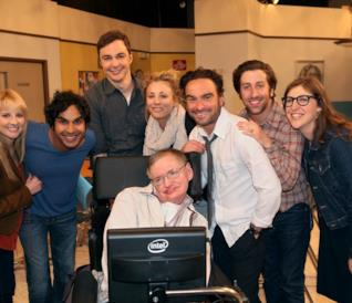 Stephen Hawking in The Big Bang Theory
