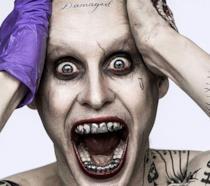 Jared Leto nel ruolo di Joker in Suicide Squad