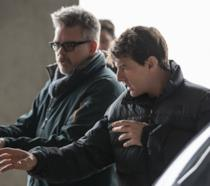 Christopher McQuarrie e Tom Cruise sul set di Mission: Impossible - Fallout
