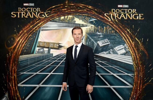 Lo Stregone Supremo Doctor Strange è interpretato da Benedict Cumberbatch