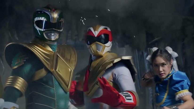 L'inatteso team-up tra Ryu ed il Green Ranger