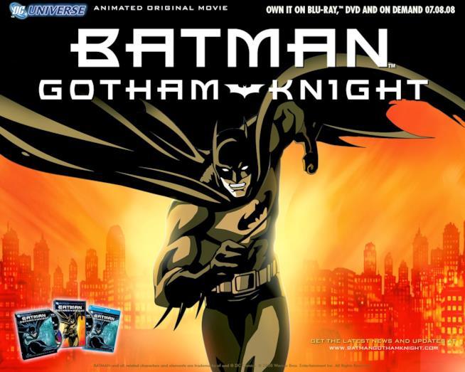 Locandina Batman Gotham Knight