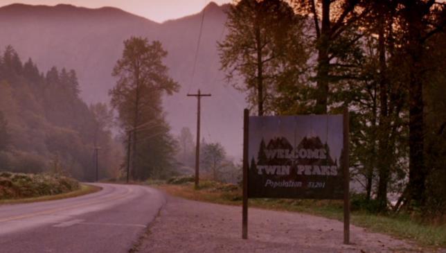 La scena di apertura di Twin Peaks