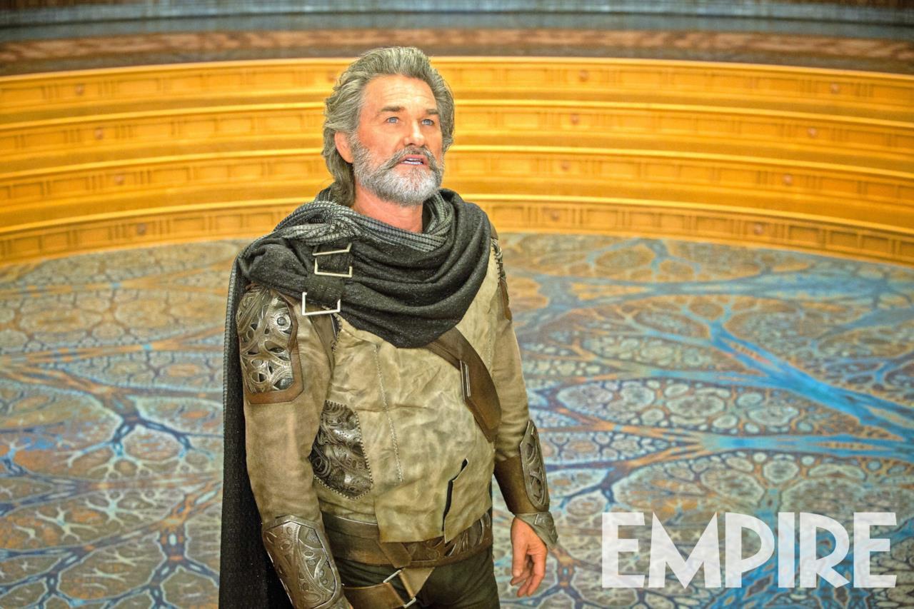 Ego nella sua forma umana nella foto di Empire