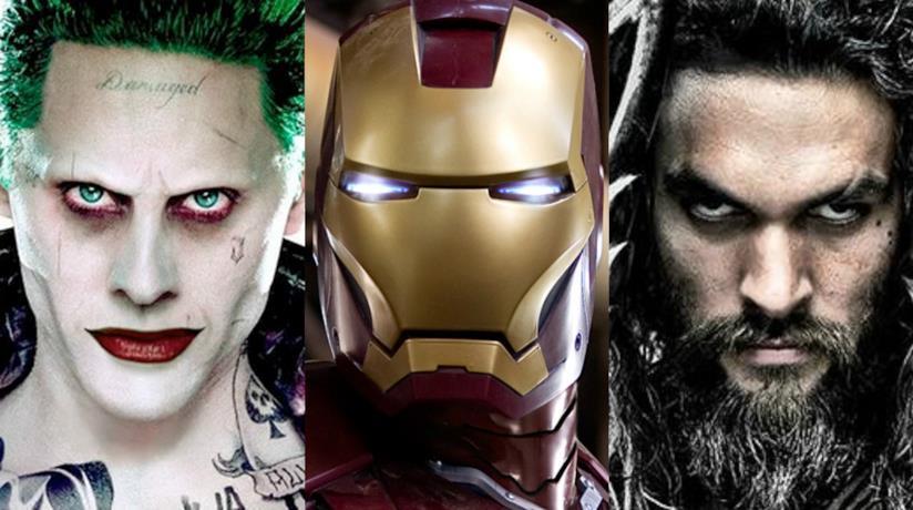 Il Joker, Iron Man e Aquaman