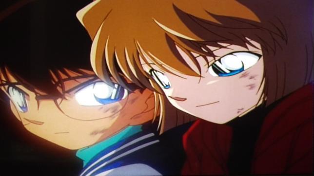 Conan si accorge dello strano comportamento dell'amica