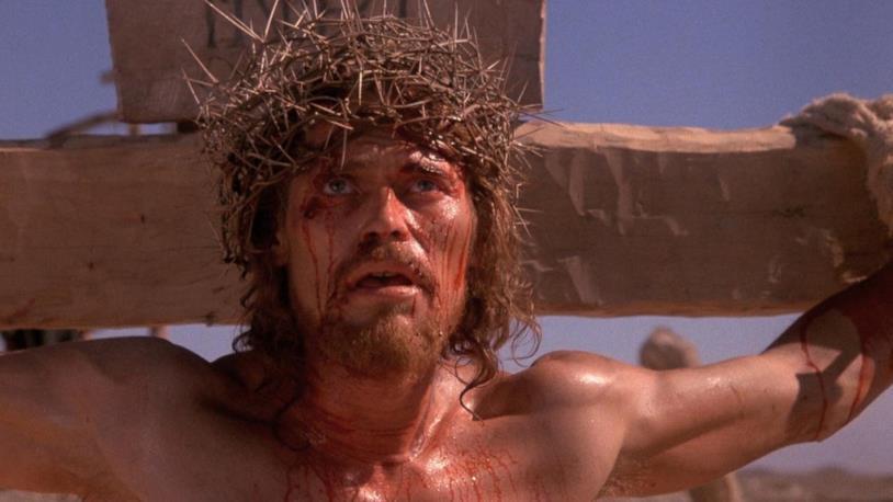 Willem Dafoe in una scena de L'ultima tentazione di Cristo