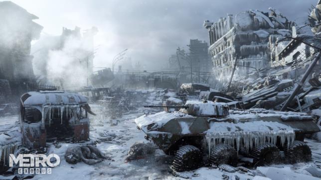 Un'immagine presa dal prossimo Metro Exodus