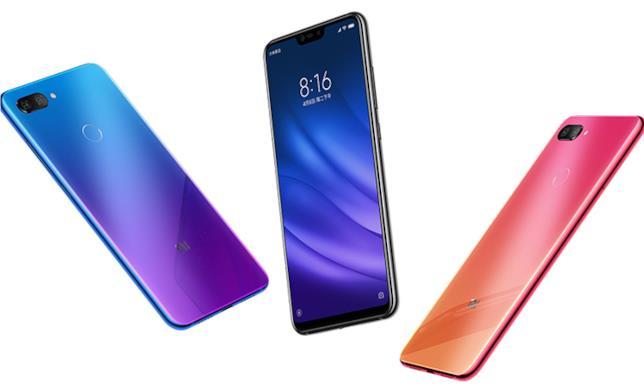Xiaomi Mi 8 Lite nelle diverse colorazioni