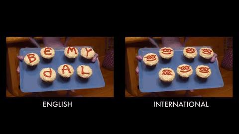 Le cupcake di Randall in Monster University: BE MY PAL/LAME