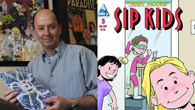 Terry Moore, autore del fumetto SIP Kids