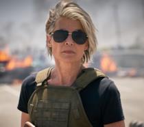 Linda Hamilton in Terminator: Destino oscuro