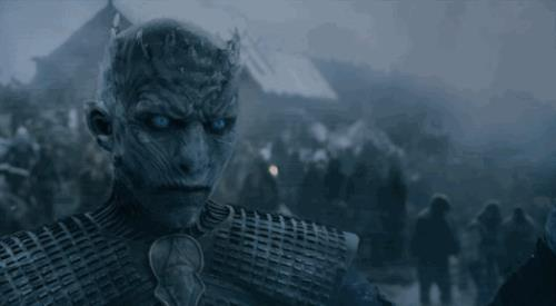 Jon Snow affronta il Re della Notte in GIF