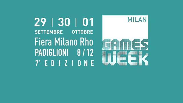 L'edizione 2017 della Games Week di Milano dal 29 settembre al 1 ottobre