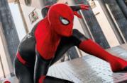 Spider-Man in uno dei poster di Spider-Man: Far From Home