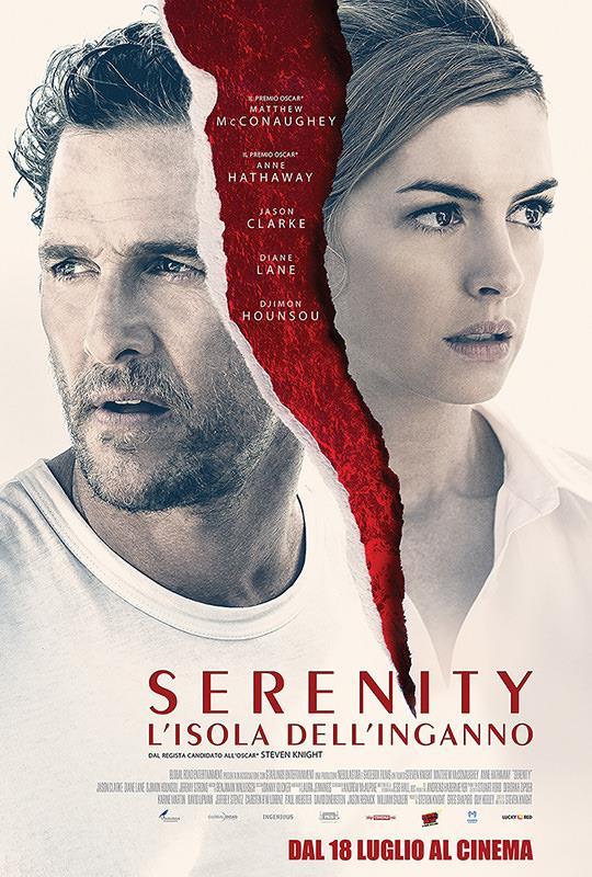 La locandina ufficiale del film Serenity – L'isola Dell'inganno