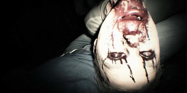 Una delle terrificanti sequenze della demo di Resident Evil 7
