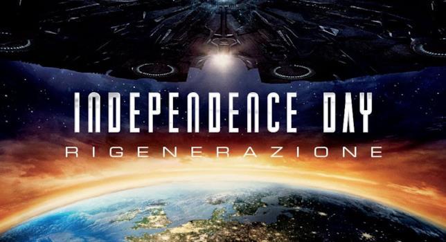 Il poster del sequel di Indipendence Day