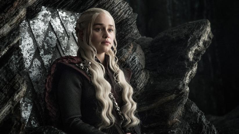 Un'immagine di Daenerys Targaryen in Game of Thrones