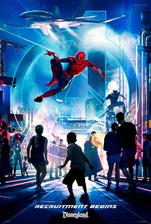 Spider-Man sarà protagonista della nuova area a tema Marvel di Disneyland Resort