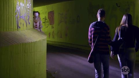 La fuga da Pennywise in un sottopassaggio