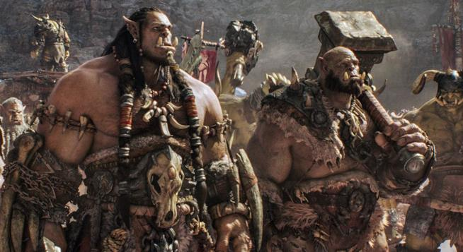 Warcraft: scena dal film