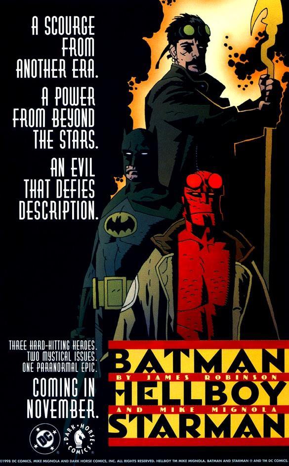 Immagine di Batman, Hellboy e Starman