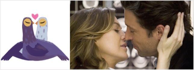 Il piccione viola e Grey's Anatomy