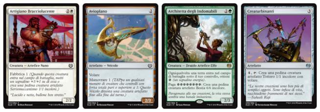 Le nuove meccaniche di gioco di Magic in quattro carte