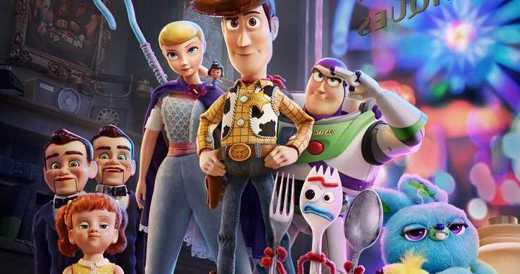 Toy Story 4 i protagonisti