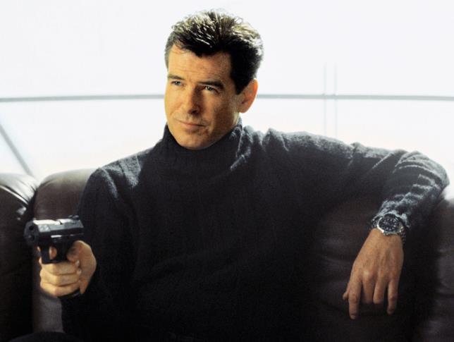 Pierce Brosnan nei panni di Bond