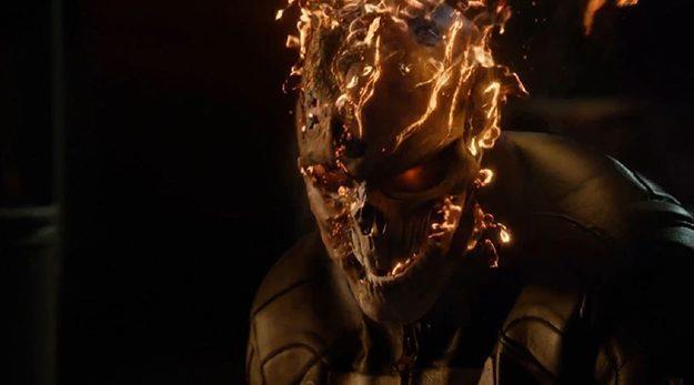 Ghost Rider in una scena di Marvel's Agents of S.H.I.E.L.D.