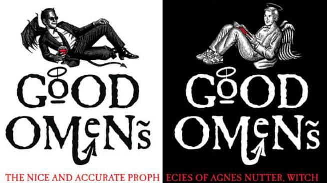 Due copertine di Good Omens