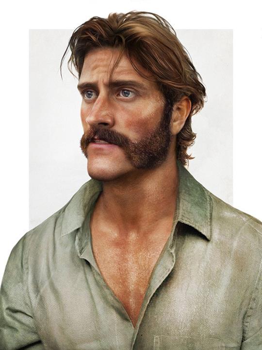 Un'immagine in versione reale del padre di Tarzan