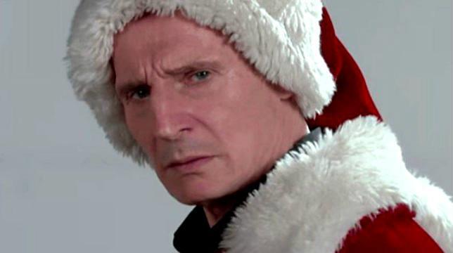 Liam Neeson interpreta Babbo Natale per The Late Show