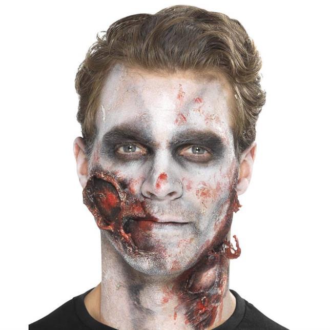 Make-up per diventare uno zombie