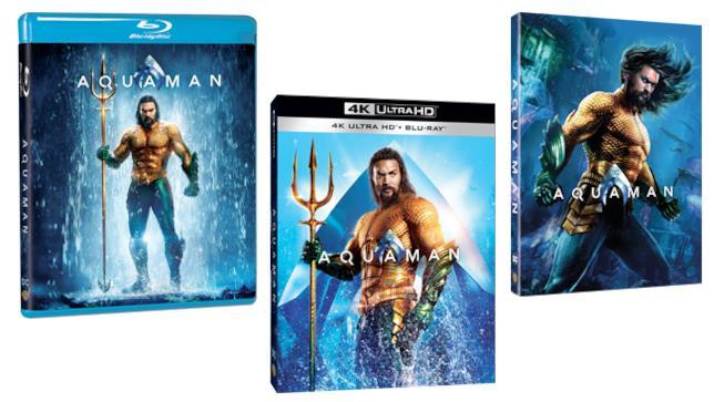 Aquaman - Home Video - Blu-ray e 4K Ultra HD