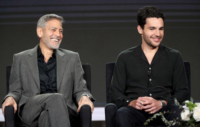 Catch-22: George Clooney e Christopher Abbott