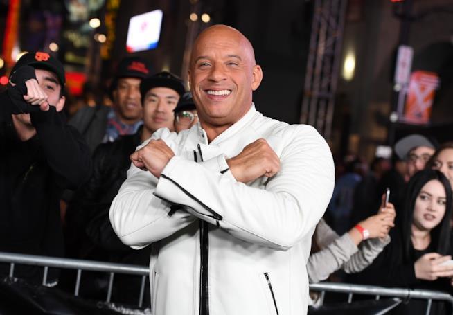 Vin Diesel sul red carpet
