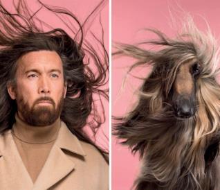Cani e padroni fotografati insieme: la somiglianza è evidente [GALLERY]
