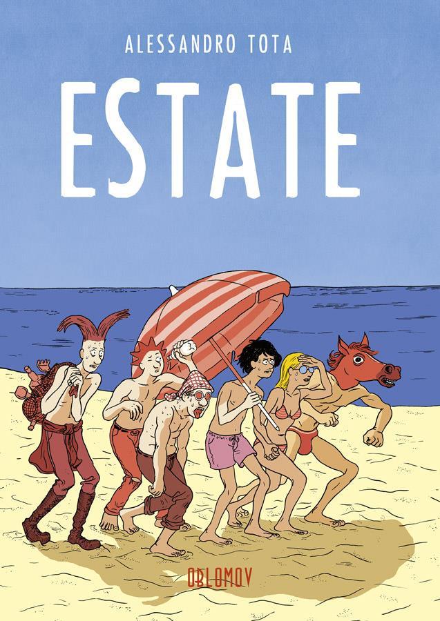 La copertina del nuovo fumetto di Alessandro Tota