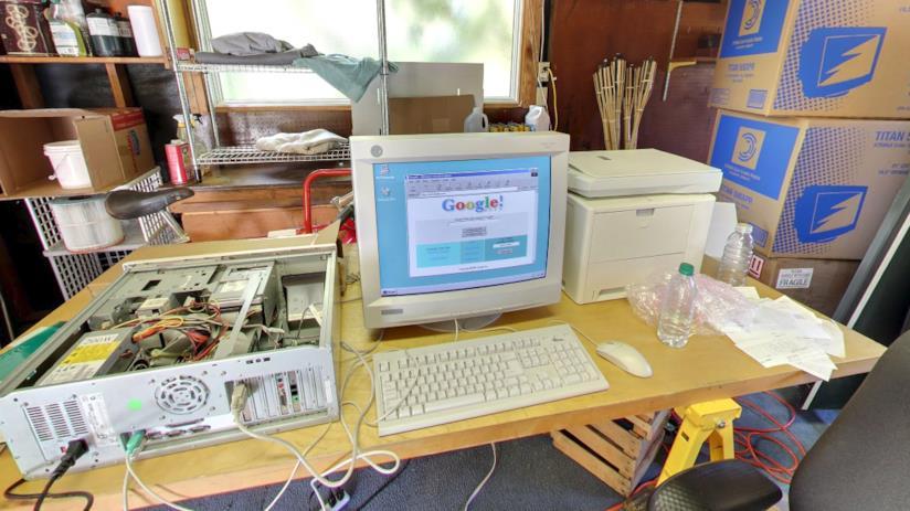 Gli uffici di Google del 1998 ricreati per il 20esimo compleanno