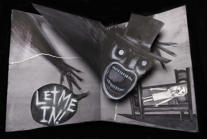 Illustrazione promo del film horror Babadook