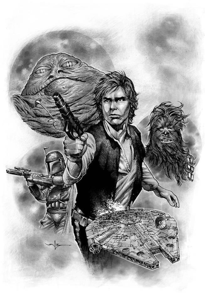 Poster di Han Solo