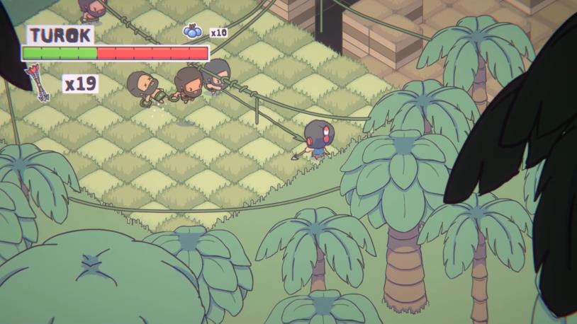Turok: Escape from Lost Valley in uno screenshot di gioco