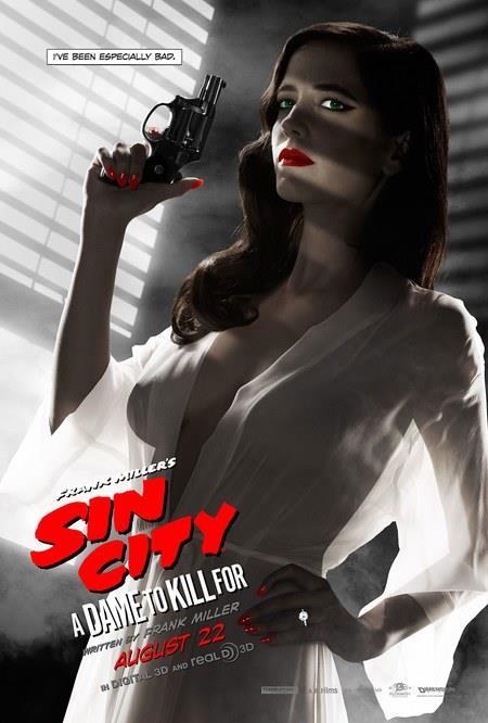 Una sensuale Eva Green nel poster di Sin City - Una donna per cui uccidere